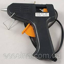 Пистолет Tермоклеевой. 20w стержни 7мм. (СТРОНГ-0439)