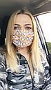 Защитная трехслойная маска для лица 72as07, фото 6