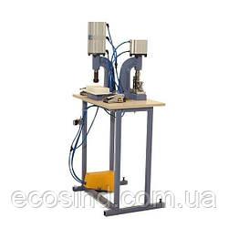 Пресс для обтяжки пуговицы тканью пневматический D-3 - Full Pnömatik Set (СТРОНГ-0683)