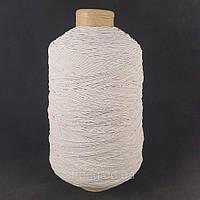 Нитка Резинка 500 грам. Белая (СТРОНГ-0510)
