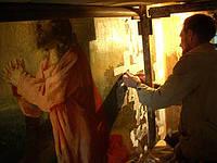 Реставрация настенной росписи