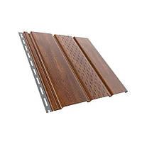 Софіт підшивка даху Горіх Класичний Бриза Bryza 1,22 м (4мх0,30см)