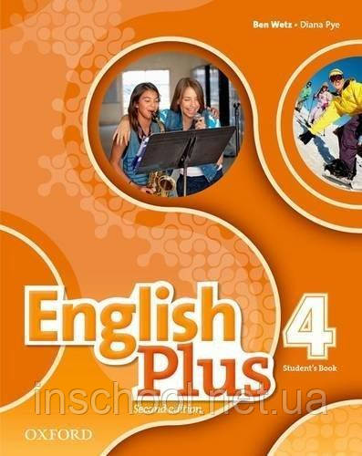 English Plus 2nd Edition 4 SB  ISBN: 9780194201599