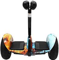 Гироскутер Mini сигвей огонь-лед Bluetooth