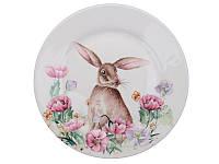 Тарелка Lefard фарфор Пасхальній кролик 21 см 358-972, фото 1