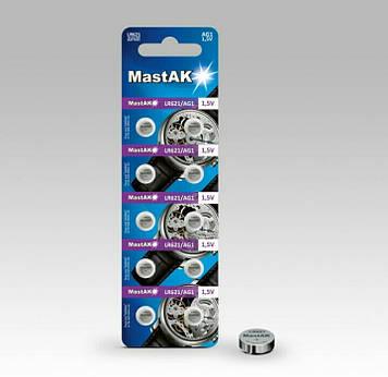 Батарейка часовая MastAK LR621 (AG1, 364)