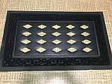 Резиновая основа под коврик 76х46 см 001WO придверной коврик в прихожую подложка для коврика, фото 2