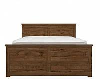 Ліжко двоспальне Gerbor Патрік + ламель 160х200 дуб техас, фото 1