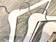Вешалки под дерево белые, фото 2