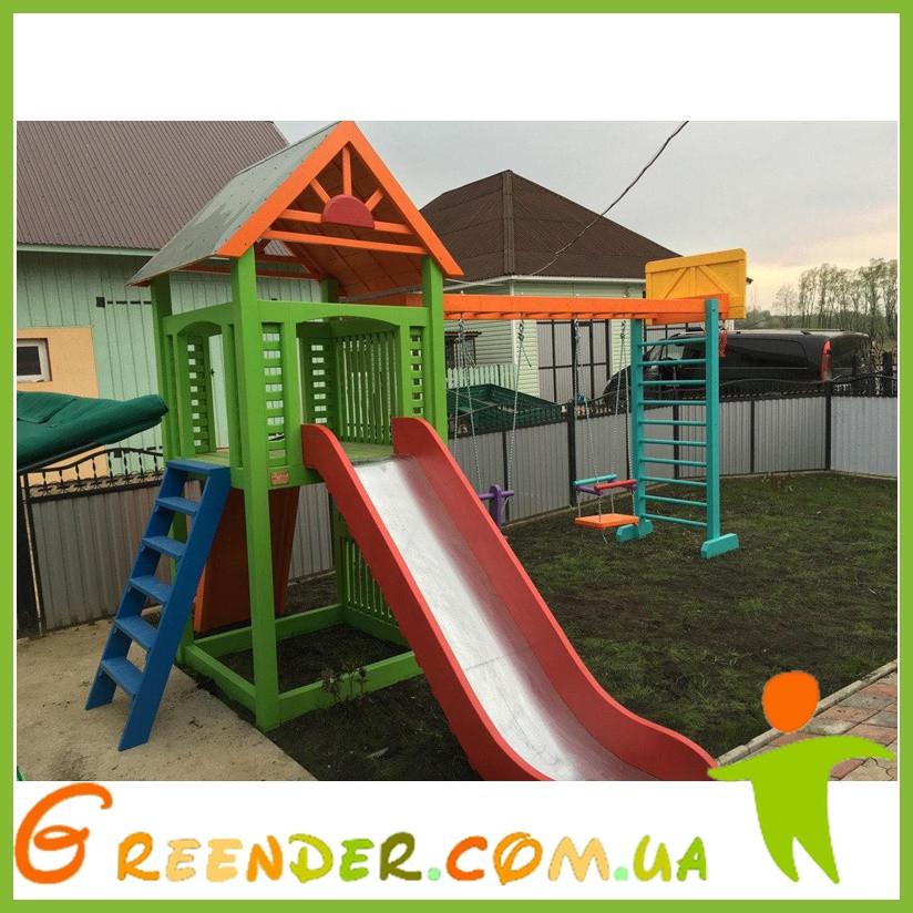 Игровой комплекс горка Тарзан мини для детей
