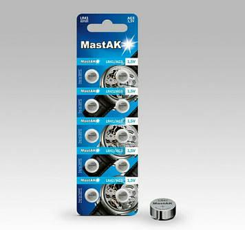 Батарейка часовая MastAK LR736 (392, AG3)