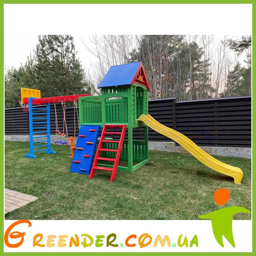 Детские игровые комплексы Тарзан
