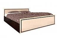 Кровать двоспальная Світ Меблів Ким 2СП (без ламели) 160х200 венге темный/венге светлый, фото 1