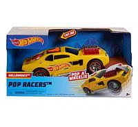 Хот Вилс Машинка  свет и звук Hot Wheels Poppin Wheelie Cars Hollowback
