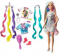 Кукла Барби единорог фантастические волосы Barbie Fantasy Hair Doll Blonde