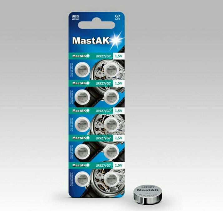 Батарейка годинникова MastAK LR927 (395, 399, AG7)