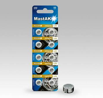 Батарейка часовая MastAK LR936 ( 394, AG7 )