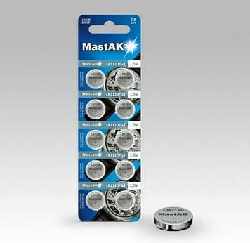 Батарейка часовая MastAK LR1120 ( 391, AG8 )