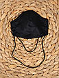 Маска для особи, Чорна, фото 4