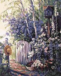 Картина по номерам  Ласточкино гнездо