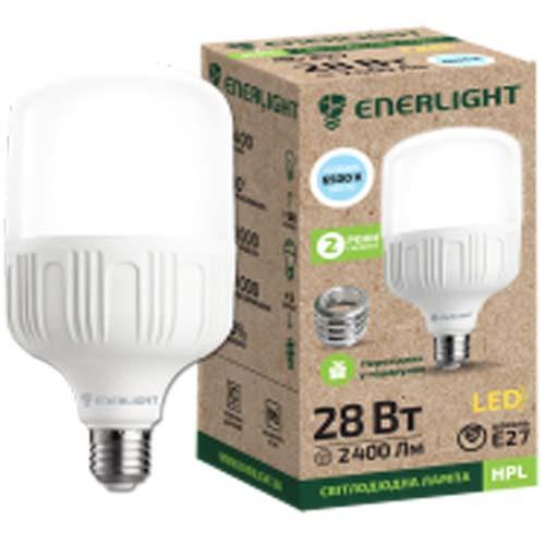Лампа світлодіодна Enerlight HPL 28Вт 6500К Е27