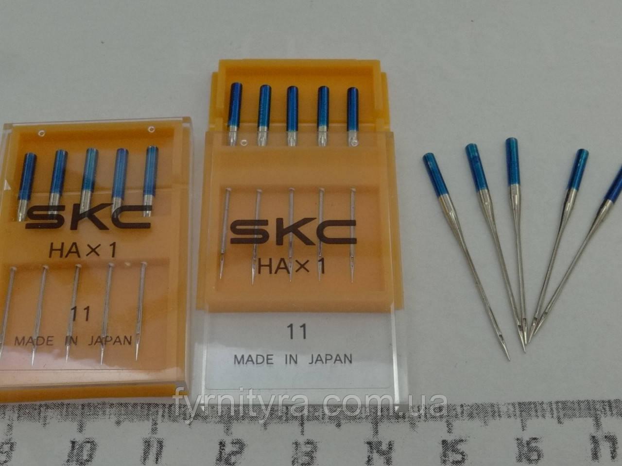 """Трикотаж """"SKC"""" Япония набор игл для бытовых швейных машин"""