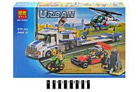 """Конструктор Лего Конструктор """"URBAN"""" """"Перевізник вертольота"""" 410дет. 10422 р.41х28х6,5см."""