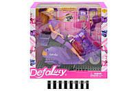 Лялька Defa  (скутер, аксесуари) 8206 (шт.)