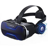 VR Shinecon G02ED Шлем 3D Glass Виртуальная реальность VR Очки Гарнитура для iPhone Android Смартфон -1TopShop