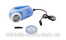 Машинка для удаления катышков от сети 220 V Lint Remover триммер для одежды, фото 2