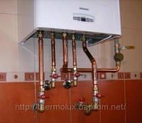 Установка газовых котлов (подключение) Харьков