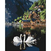 Картина по номерам Романтическая Австрия 40 х 50 Идейка КНО4134