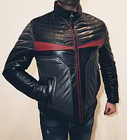 Кожаная мужская куртка Fabiani