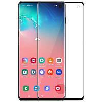 Защитное стекло Nillkin 3D CP+ MAX Full Glue для Samsung Galaxy S10 (2019) G973 Black (0.33 mm)