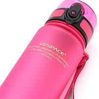 Пляшка для води Uzspace Pink 500 мл Рожева