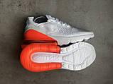 Кроссовки Nike Air Max 270 White Orange, фото 6