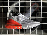 Кроссовки Nike Air Max 270 White Orange, фото 7