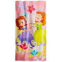 Полотенце Велюровое  хлопок с Софией   Америка Дисней  Disney Оригинал  США