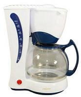 Кофеварка капельная MAESTRO MR-400 белая   кофемашина Маэстро, Маестро (800 Вт, Anti-drip, на 10-12 чашек)