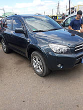 Дефлекторы окон (ветровики)  Toyota RAV-4 2006 - 2010 4шт (Heko)