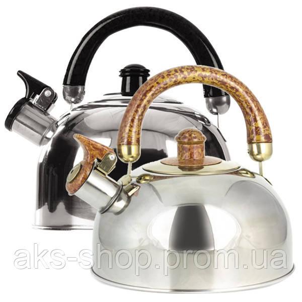 Чайник для плиты со свистком Maestro MR-1301 3,5л