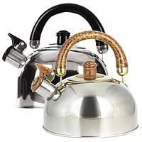 Чайник для плиты со свистком Maestro MR-1301 3,5л, фото 1