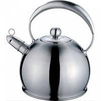 Чайник стальной со свистком Maestro MR-1330 3л