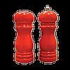 Набор соль/перец MAESTRO MR-1616 черный | набор для специй Маэстро | солонка и перечница Маестро