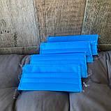Маски, повязки шитые синие трёхслойные из спанбонда защитные, качественные!, фото 3