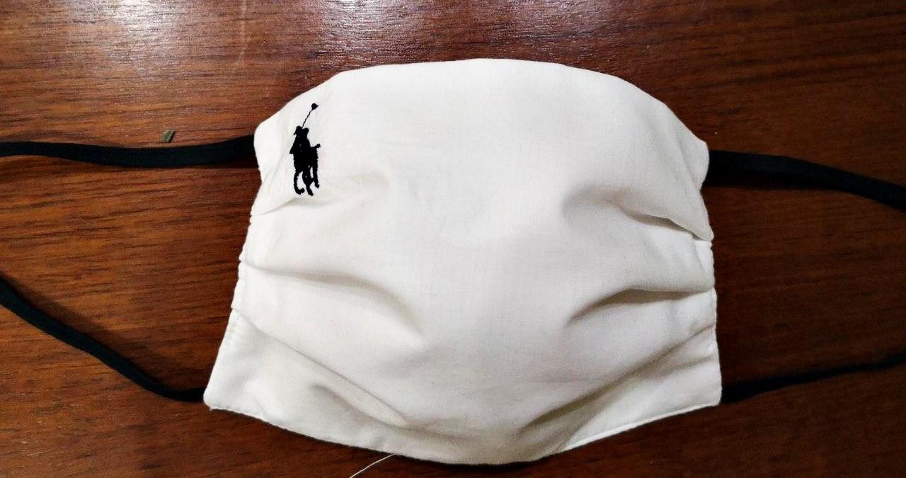 Маска белая защитная хлопковая, с марлевой мембраной 5 слоев защиты, многоразовая, выбор рисунков