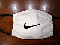 Маски белые унисекс защитные хлопковые, с марлевой мембраной 5 слоев защиты, многоразовые, на выбор