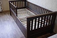 Кровать детская подростковая Карина, массив дуб, ясень, фото 1