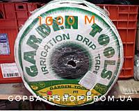 Капельная лента Garden Tools 6 mil 20-sm 1.1 l/h 1000m