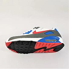 Кроссовки женские белые в стиле Nike Air Max. Кроссовки женские из эко кожи. Кеды женские. Мокасины женские, фото 3